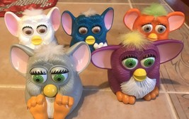 Lot of 5 1998 McDONALDS Happy Meal Toys FURBY Tiger Electronics - Asst. ... - $9.49