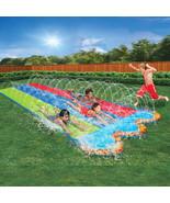 Banzai kids triple racer water slide  16 feet long 1 thumbtall
