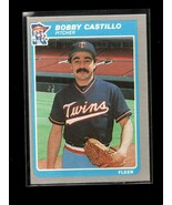 1985 FLEER #274 BOBBY CASTILLO NMMT TWINS - $0.99