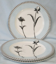 Charter Club Tuilleries Cream Floral Salad Plate set of 3 - $46.42