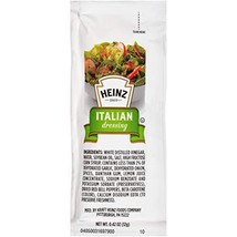 Heinz Italian Dressing Single Serve 0.4 oz Packets, Pack of 200