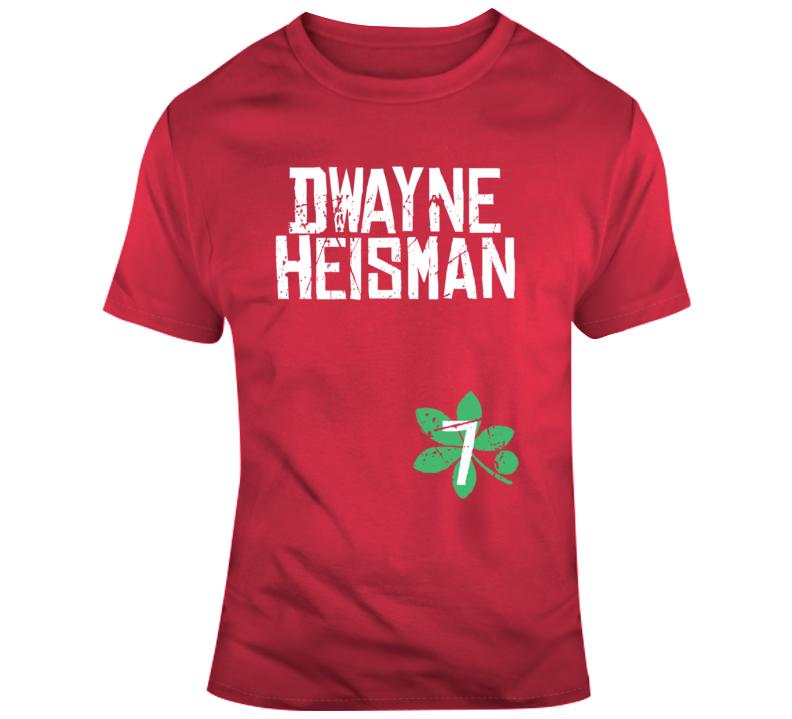 Dwayne Haskins Heisman Distressed College Football Fan T ...