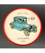 1914 CHALMERS Jell-O Picture Wheel #63 - $5.00