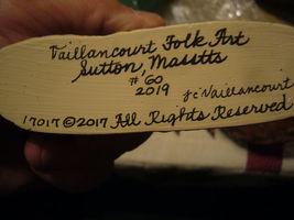 Vaillancourt Irish Santa Gnome Riding Rabbit Personally signed by Judi! image 5