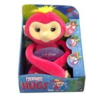 Fingerlings Hugs Bella Friendly Interactive Plush Monkey Pink NEW - $24.99