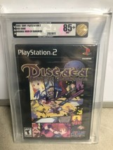 Ps2 Disgaea: Hour Of Darkness VGA Graded 85+ 2003 NM+ - $263.33