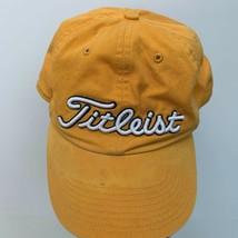 Titleist Cap Yellow Size Large - $19.77
