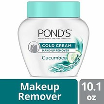Pond's Cold Cream Make-Up remover Cucumber 10.1 oz Packaging may vary Pack of 3
