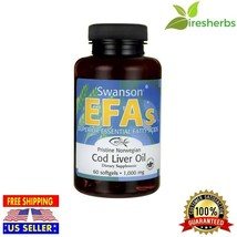 Pristine Norwegian Cod Liver Oil 1000 Mg Heart Immunity Supplement 60 So... - $16.49
