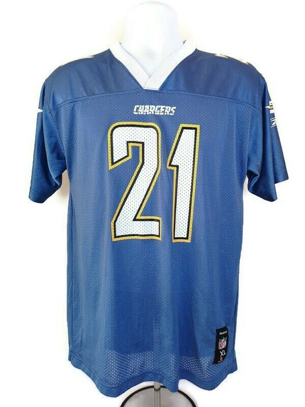 Primary image for Los Angeles Chargers # 21 LaDainian Tomlinson Reebok Jersey Size XL (18-20Yrs)