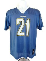 Los Angeles Chargers # 21 LaDainian Tomlinson Reebok Jersey Size XL (18-... - $14.95