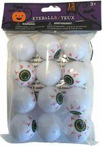 Eyeball Ping Pong Balls for Halloween or Table Tennis - 12 Plastic EyeBalls  image 4