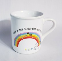 Hallmark Mug Mates Day Filled with Rainbows and With Love 1983 Coffee Mu... - $8.82