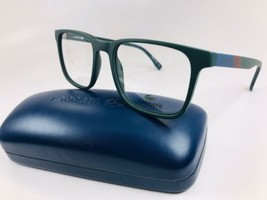 New LACOSTE L2819 315 Matte Green Eyeglasses 52mm with Case - $79.15