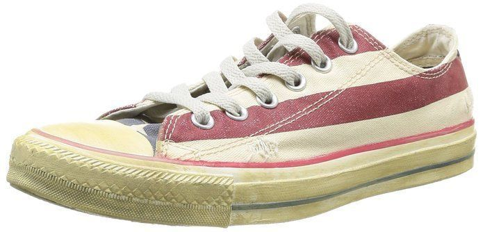 Primary image for Converse Unisex All Star Rummage Ox Star and Bars White/Navy/Re Sizes 4-10 1V831