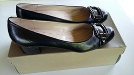 Black high heels shoes size 7 1/2 by Easy Spirit with box - $6.95