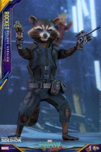 Hot Toys Marvel Guardians of the Galaxy Vol. 2 Rocket (Deluxe Version) 1... - $447.87
