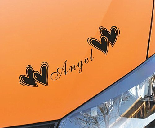 Romantic Letters Car Sticker Popular Car Decal Free Decals BLACK ( 45cm )
