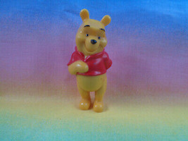 Disney Winnie The Pooh Solid PVC Figure or Cake Topper Hand in Back - $1.93