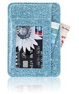 Front Pocket Wallet Minimalist Wallets Leather Slim Wallet Money Clip R... - $20.37