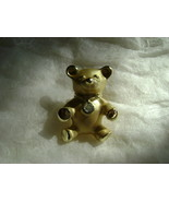 Vintage Teddy Bear Lapel Pin Gigi Giusti  - $15.78