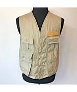Vintage SafTBak Saf T Bak Fishing Vest size XL Hunting Clothes USA S8 - $19.95