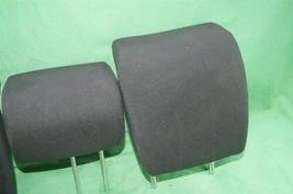 10-14 Honda Insight Rear Seat Cloth Headrests Head Rests Set image 3