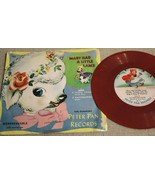"Collector Mary Had A Little Lamb +2 KIDS RECORD Children's 6"" PETER PAN 102 - $2.33"