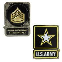Genuine U.S. Army Coin: Staff Serg EAN T - $16.81
