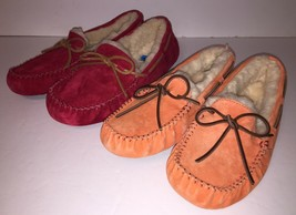 UGG Australia Womens Moccasins Dakota Sheepskin Soft Slip On Slippers 56... - $78.99
