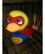 """Fiesta Super Duckies Plush Super Awesome Ducky 10"""" Superhero 2015 Ages 3... - $28.70"""