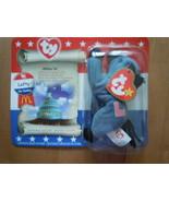McDonald's Teeny Beanie Lefty The Donkey In Package 2000 New - $5.99