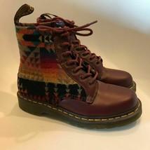 Dr. Martens x Pendleton EU 39 Cherry Combat Boots  - $247.50