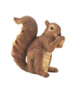Nibbling Squirrel Garden Statue - $13.49