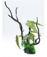 Penn Plax Aqua-Plant Driftwood Aquarium Decoration Ornament (Large Green... - £15.04 GBP