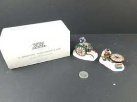DEPARTMENT 56 HERITAGE VILLAGE SERIES C. BRADFORD, WHEELWRIGHT & SON #58... - $12.31