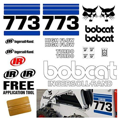 Bobcat 773 v2 Skid Steer 21pc Set Vinyl and 50 similar items