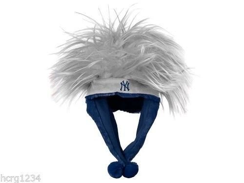 New York Yankees Forever Collectibles  MLB Troll Hair Dangle Hat OSFM