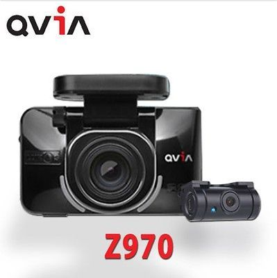 LUKAS QVIA Z970 Dash Camera 2Ch FHD LCD Built-in GPS Dual 32Gb + 8Gb