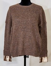 J. Crew women xxs pull over cozy soft brown sweater  mohair wool blend - $26.89