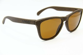 NEW OAKLEY FROGSKINS OO9013-76 BROWN AUTHENTIC SUNGLASSES OO9013 FRAME 5... - $66.45