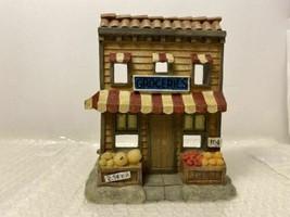 Berkeley Designs Resin Groceries Fruit Storefront Tealight Candle Holder - $12.00