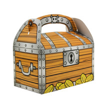 Treasure Chest GoodieTreat Bag PIRATE Birthday Party Loot Favors Favor 1... - $10.39