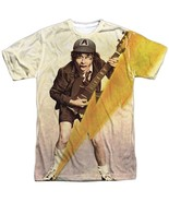 AC/DC High Voltage Album Cover Angus Allover Front Sublimation T-shirt S... - £22.59 GBP+