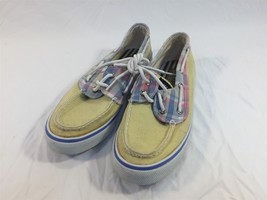 Sperry Top Siders Womens 6M 9777991 Yellow - $19.99