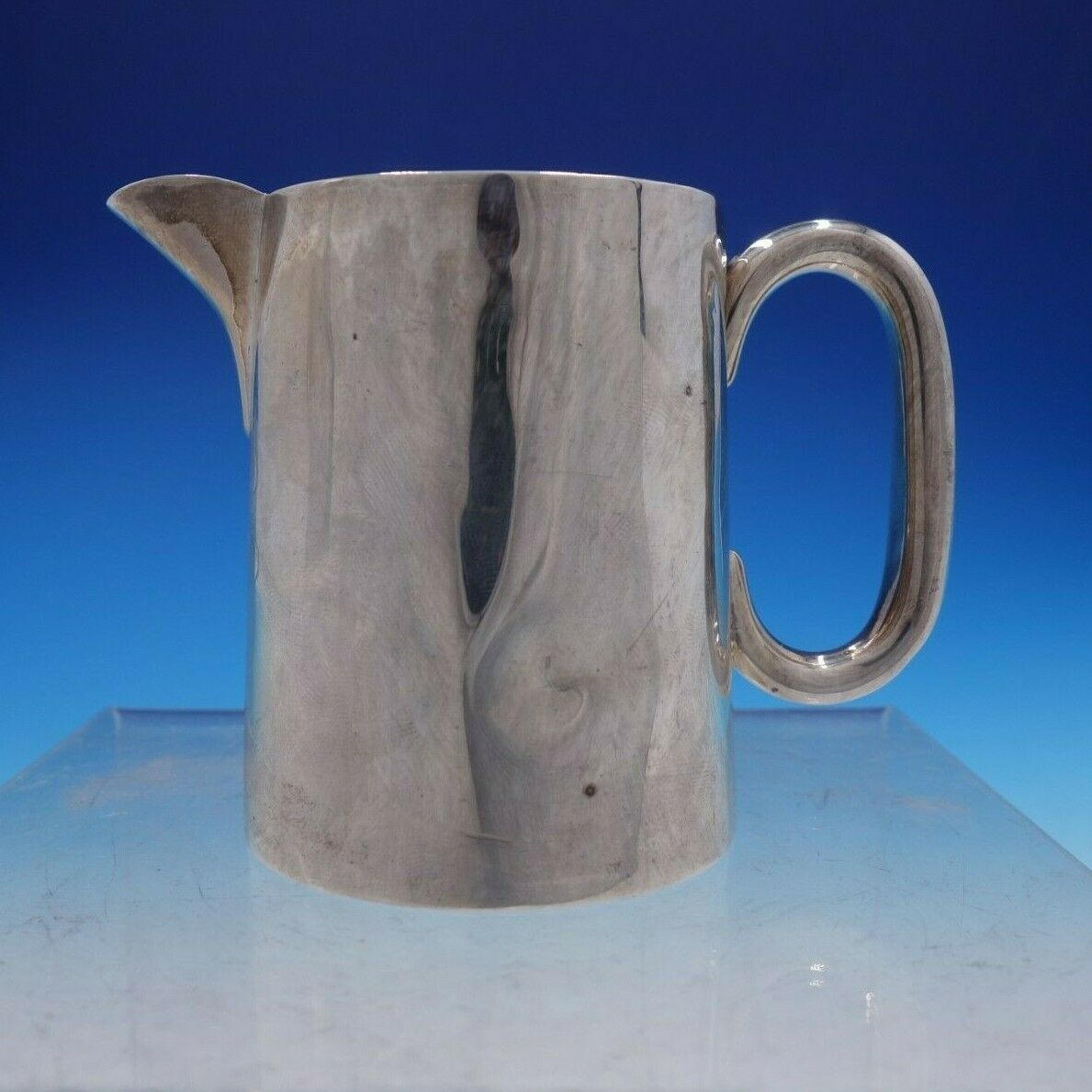 Primary image for Vintage English Silver Creamer with Handle and Spout from Chester (#4242)