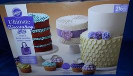 NEW WILTON ULTIMATE CAKE DECORATING SET 216 PIECE 2109-9036 - $89.99