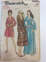 Vintage Sewing Pattern Butterick 5997 Size 10 Womens Robe Housecoat Loun... - $7.12