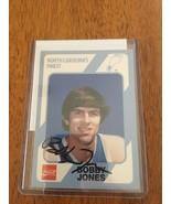 BOBBY JONES  AUTOGRAPH SIGNED NORTH CAROLINA TARHEELS BASKETBALL CARD 76... - $18.69