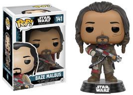 Star Wars Rogue One Movie Baze Malbus Pop Figure Toy #141 Funko New Nib - $8.79